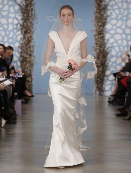 Suknie ślubne 2014: Kolekcja Oscar de la Renta [Zdjęcia]