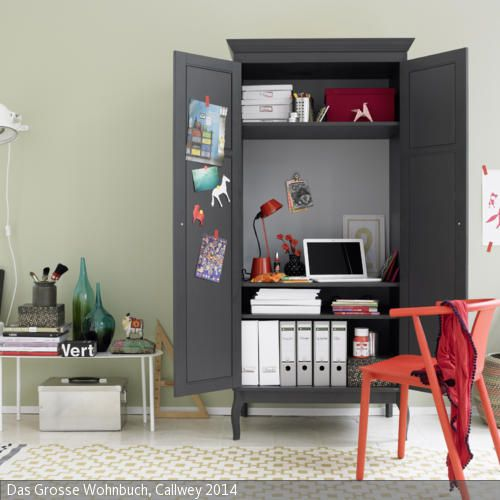 b ro im schrank haus pinterest schr nkchen b ros und arbeitszimmer. Black Bedroom Furniture Sets. Home Design Ideas