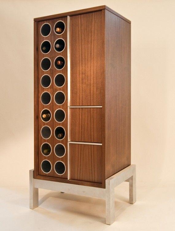Items Similar To Wine Haus On Etsy Modern Wine Rack Wine House Wine Rack