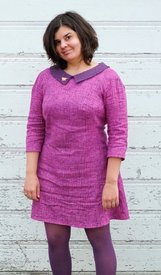 Miranda's Francoise dress - sewing pattern by Tilly and the Buttons