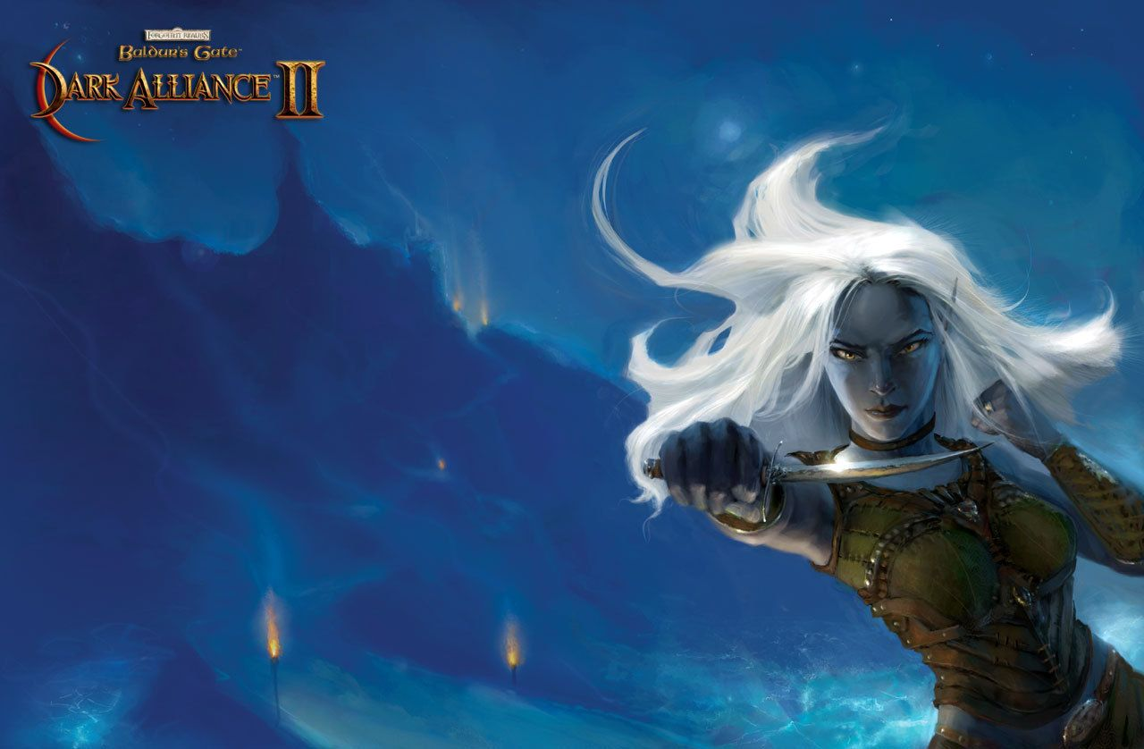 Vhaidra Uoswiir Baldur S Gate Dark Alliance Donjon Et Dragon