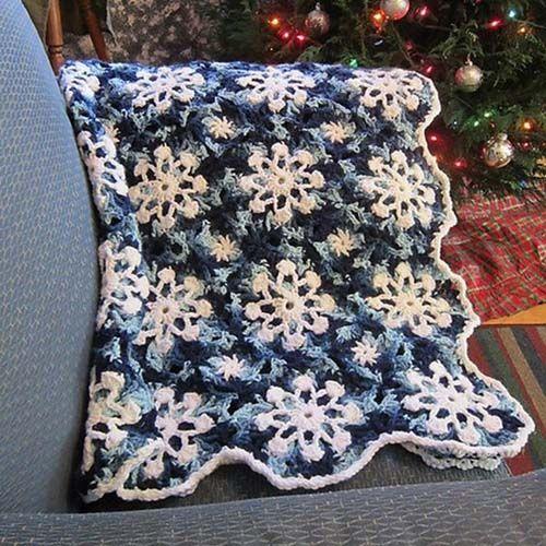 Snowflakes Throw - Free Pattern (Beautiful Skills ...