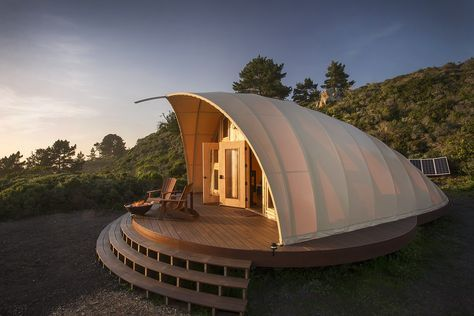 This tent pairs eco friendly design with luxury camping take hotel style amenities to the great outdoors without leaving  trace also rh pinterest