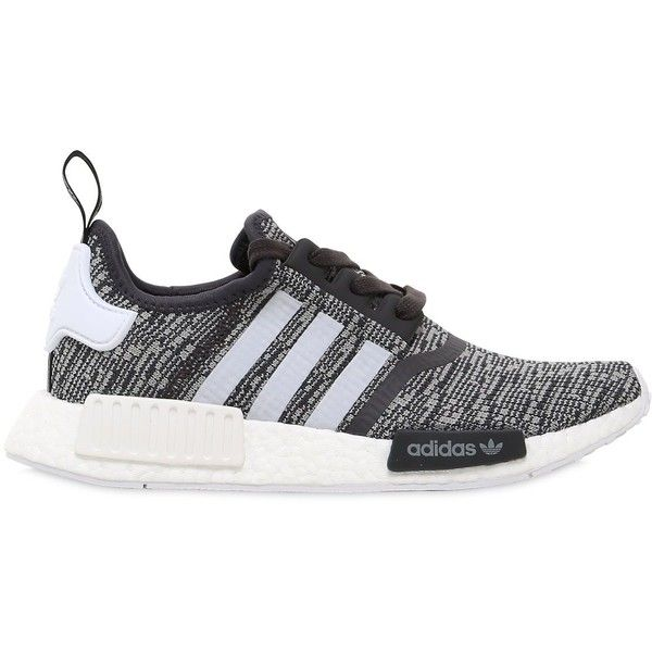 949b0cb5dfdde Adidas Originals Women Nmd R1 Primeknit Glitch Sneakers ( 170) ❤ liked on  Polyvore featuring shoes