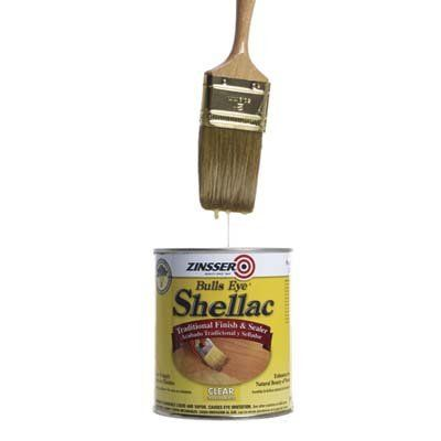 Shellac Brush Cleaning