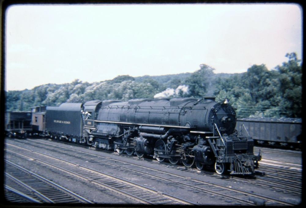 Duplicate Slide DSld Delaware & Hudson D&H 1500 Steam 46
