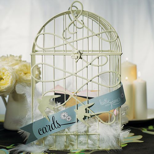 Modern Decorative Birdcage - great for love bird and vintage themes