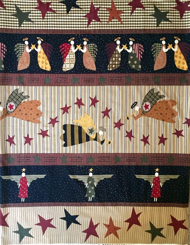 Fabric Craft Panels in 100/% Cotton or Polyester Angel