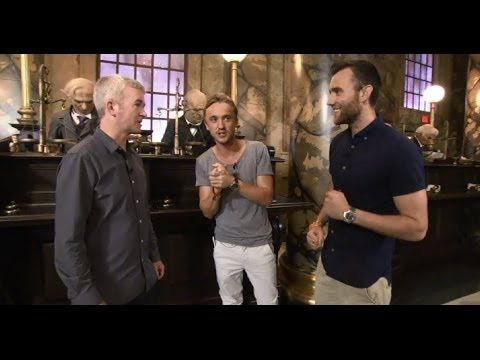 Behind the Bricks: A Tour of Diagon Alley™ with Tom Felton and Matthew L...