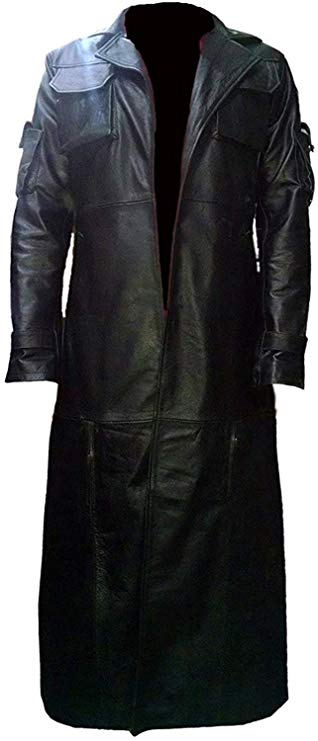 ICEGREY Mens Faux Leather Jackets Casual Slim Fit Coats