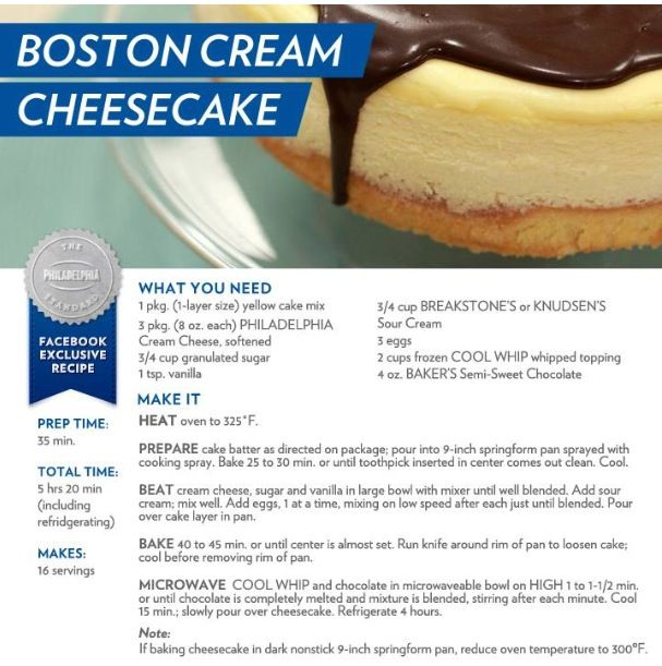 Boston Cream Cheesecake Cheesecake Recipes Delicious Desserts Desserts