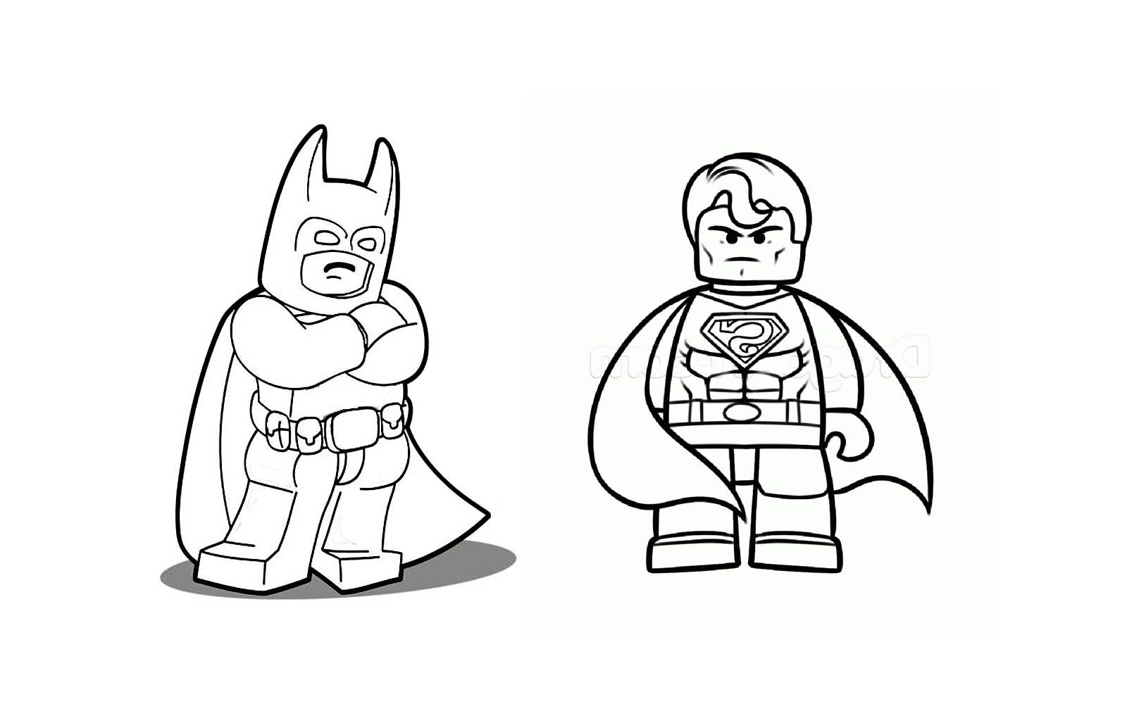 Coloriage Lego Marvel Image De Personnages Animes Id 25