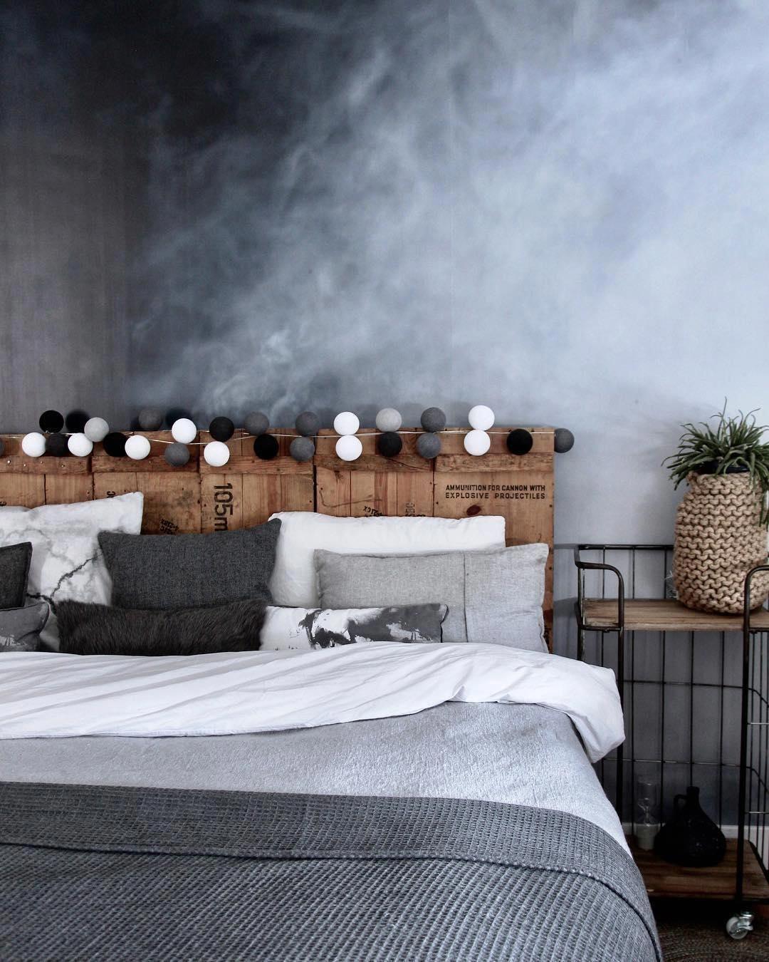Wow Ein Schlafzimmer Zum Bewundern Die Verschiedenen Grau Tone