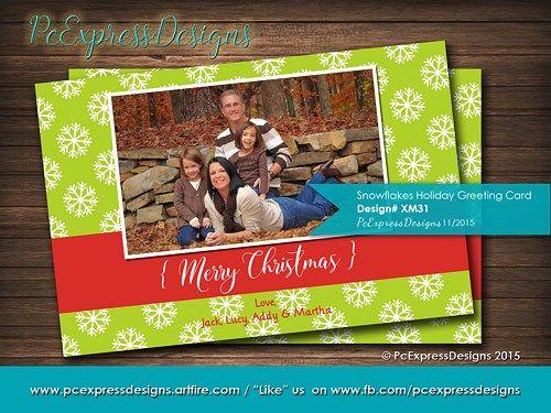 Snowflake christmas holiday greeting card xm31 holiday greeting snowflake christmas holiday greeting card xm31 m4hsunfo