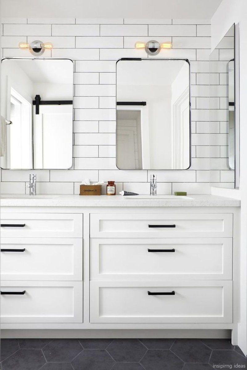 23 Awesome Modern Farmhouse Bathroom Vanity Ideas All