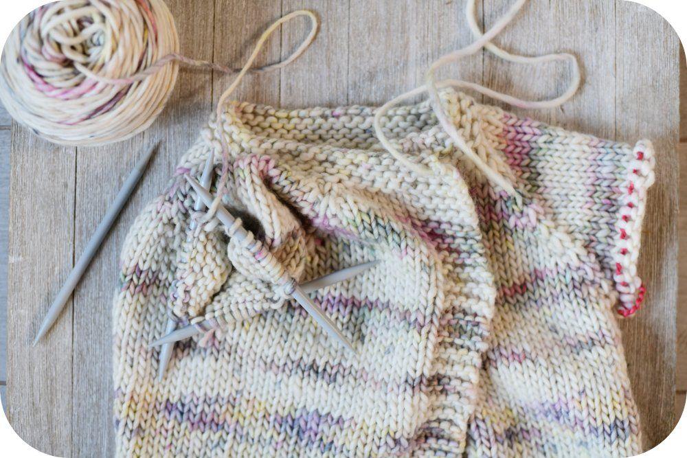 Tutorial: how to make a top down raglan sleeve cardigan