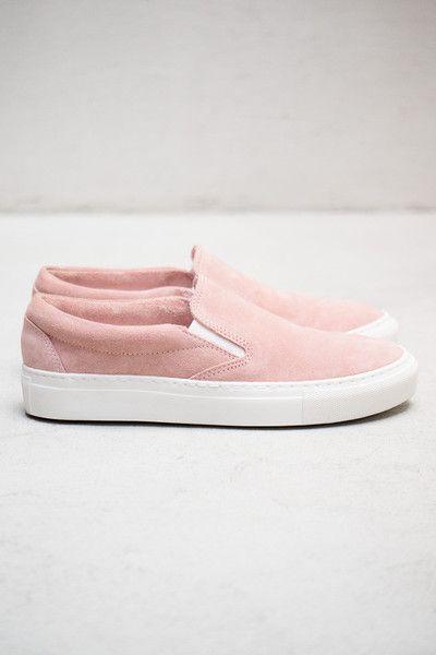 Light Pink Slip-ons  ss14 fringeandfrange.com Sock Shoes d16aa5eb8e