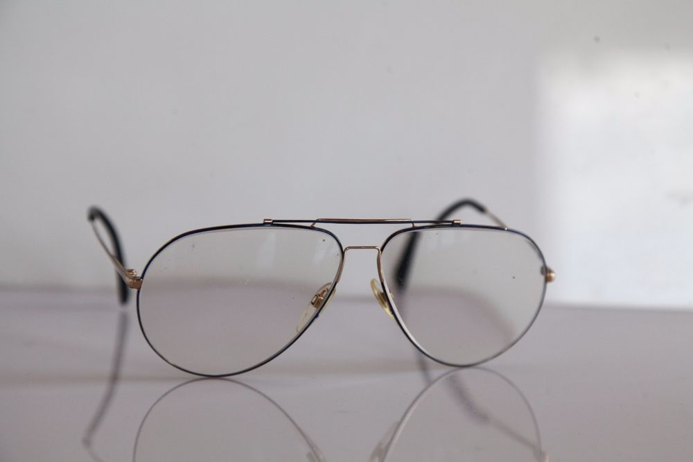 RODENSTOCK LIFESTYLE Eyewear, Gold Aviator Frame, RX-Able ...