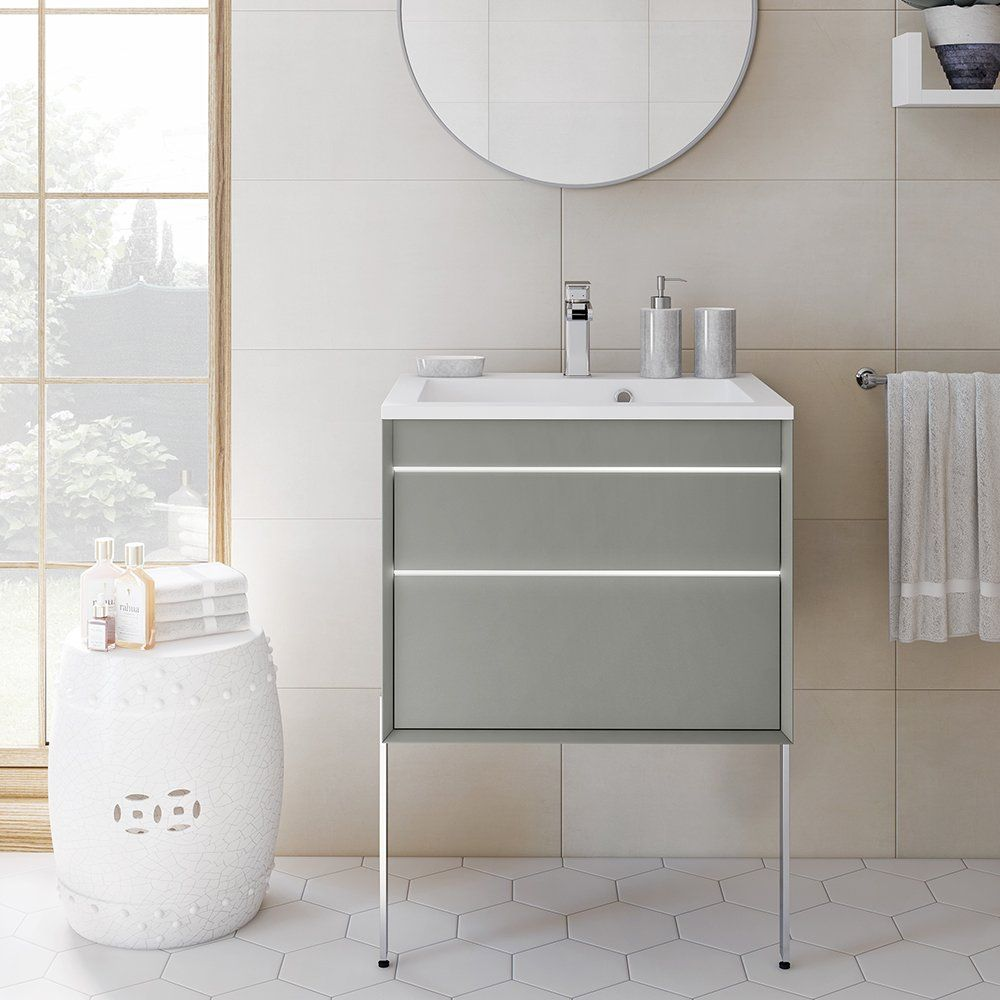 meuble de salle de bains suspendu Aquarine