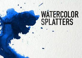 Set Of 32 High Resolution Splatter Brushes Created With Artist
