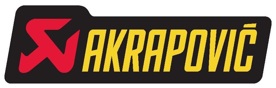 Akrapovic Exhausts Dengan Gambar Stiker Seni