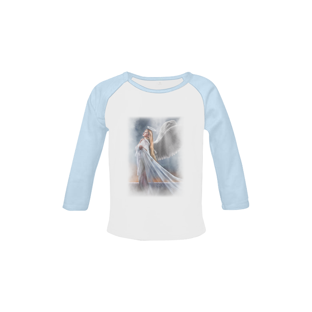 Blessed Guardian Baby Organic Long Sleeve Shirt.