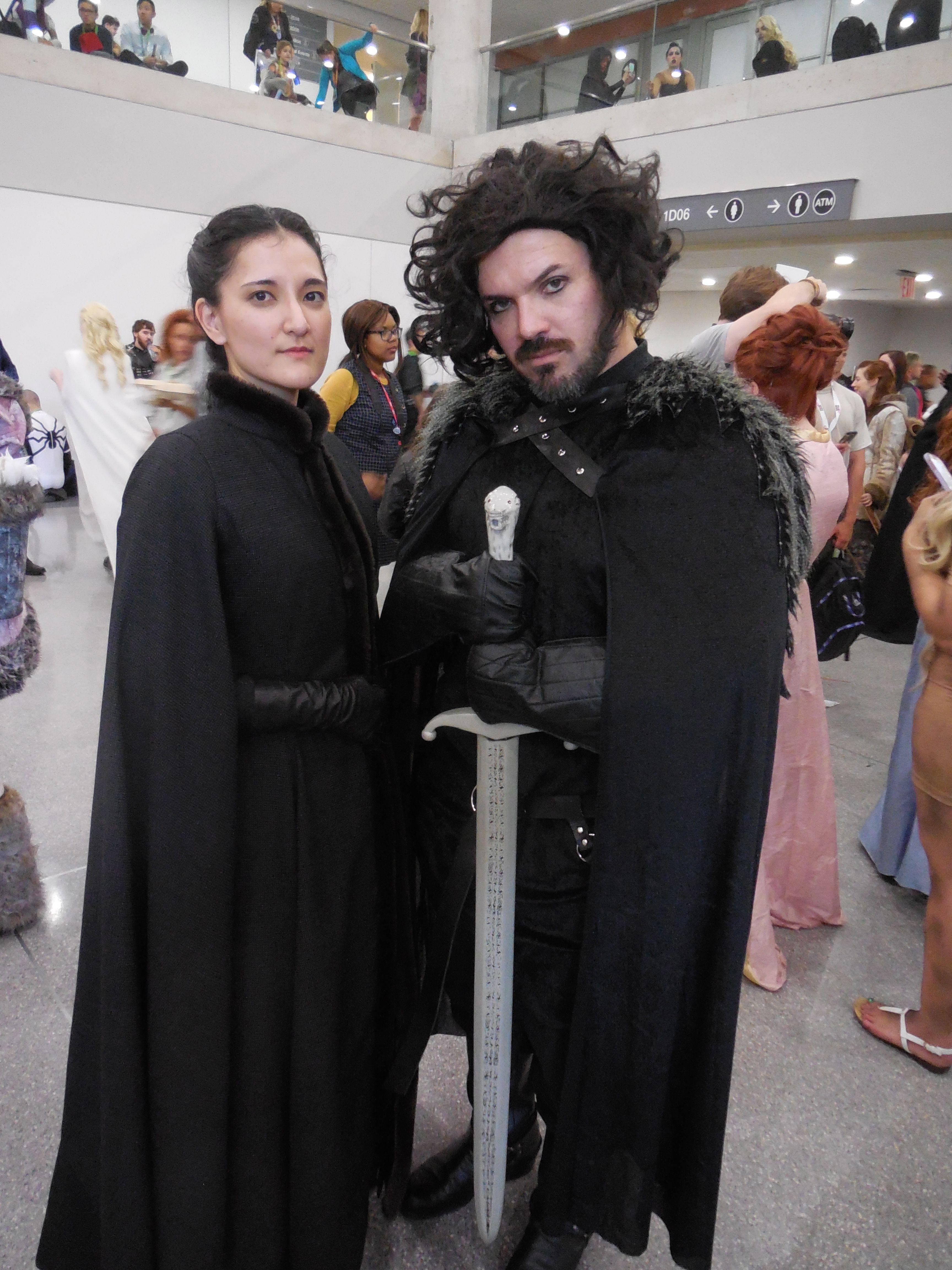 Sansa Stark Game of Thrones Cosplay NYCC2015 NYCC Jon Snow