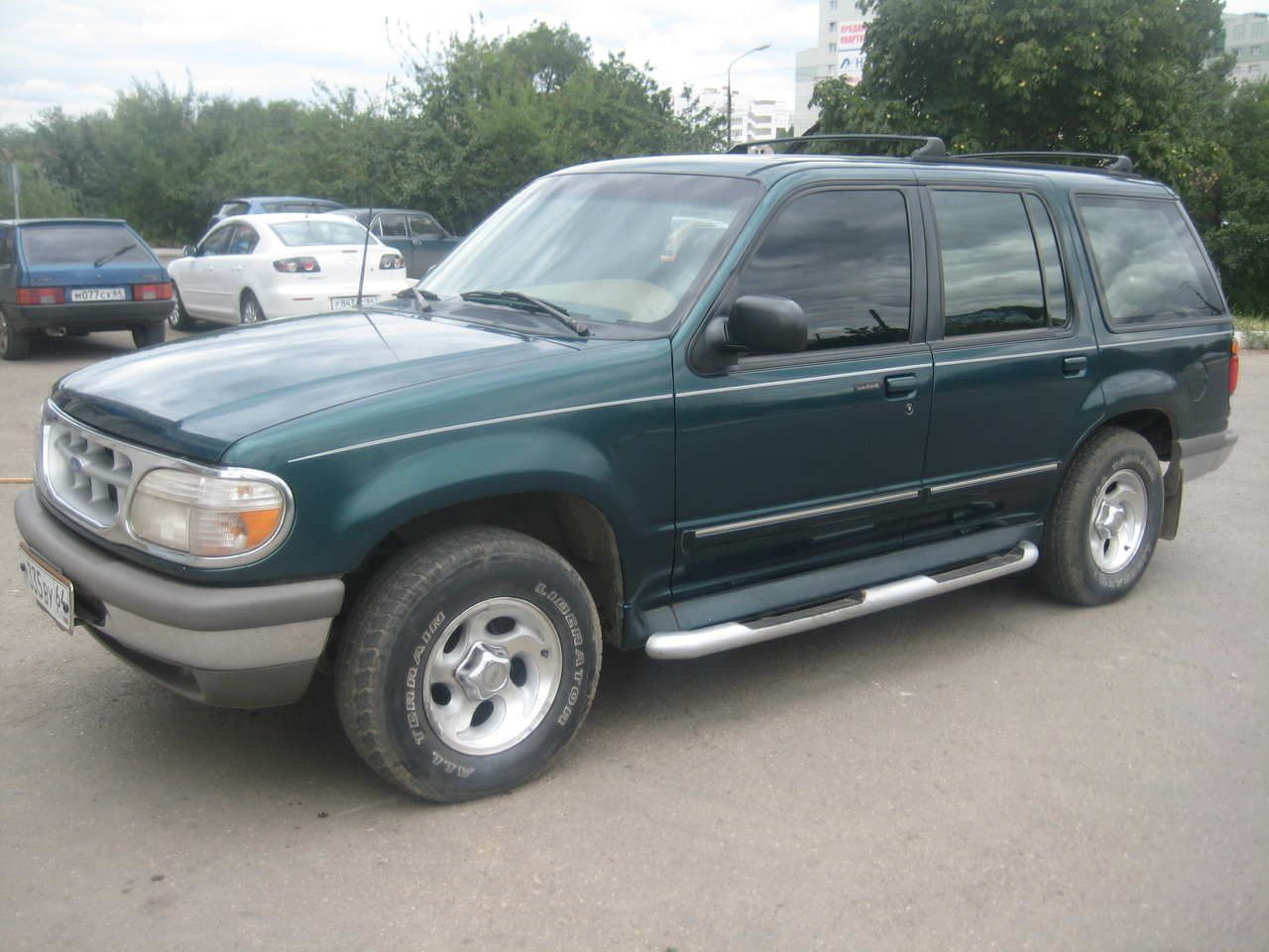 1995 ford explorer my grandpa had one of these its not the best car but it still gives me the warm fuzzies dream car for sure