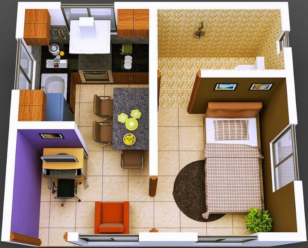 Apartamentos peque os modernos cocina buscar con google for Fachadas para departamentos pequenos