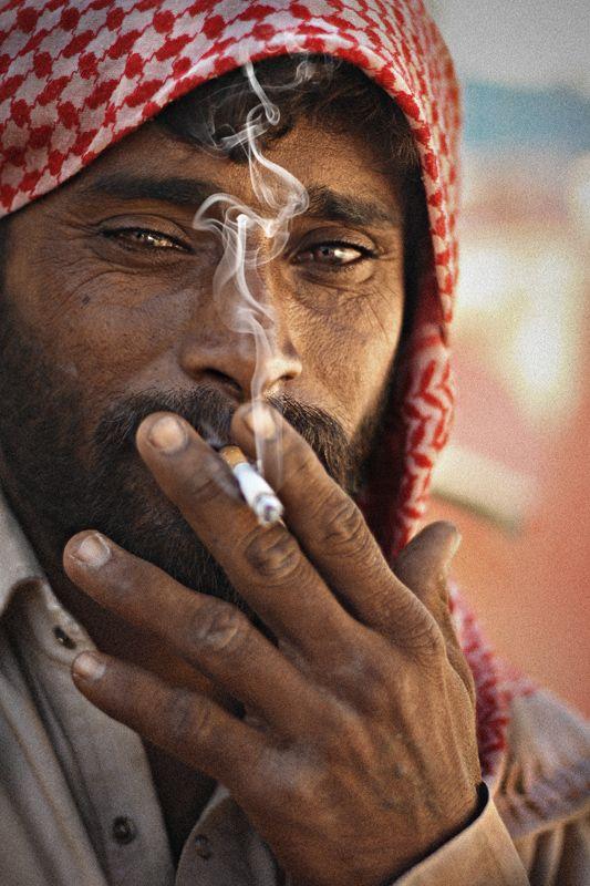 Smoking Pakistani
