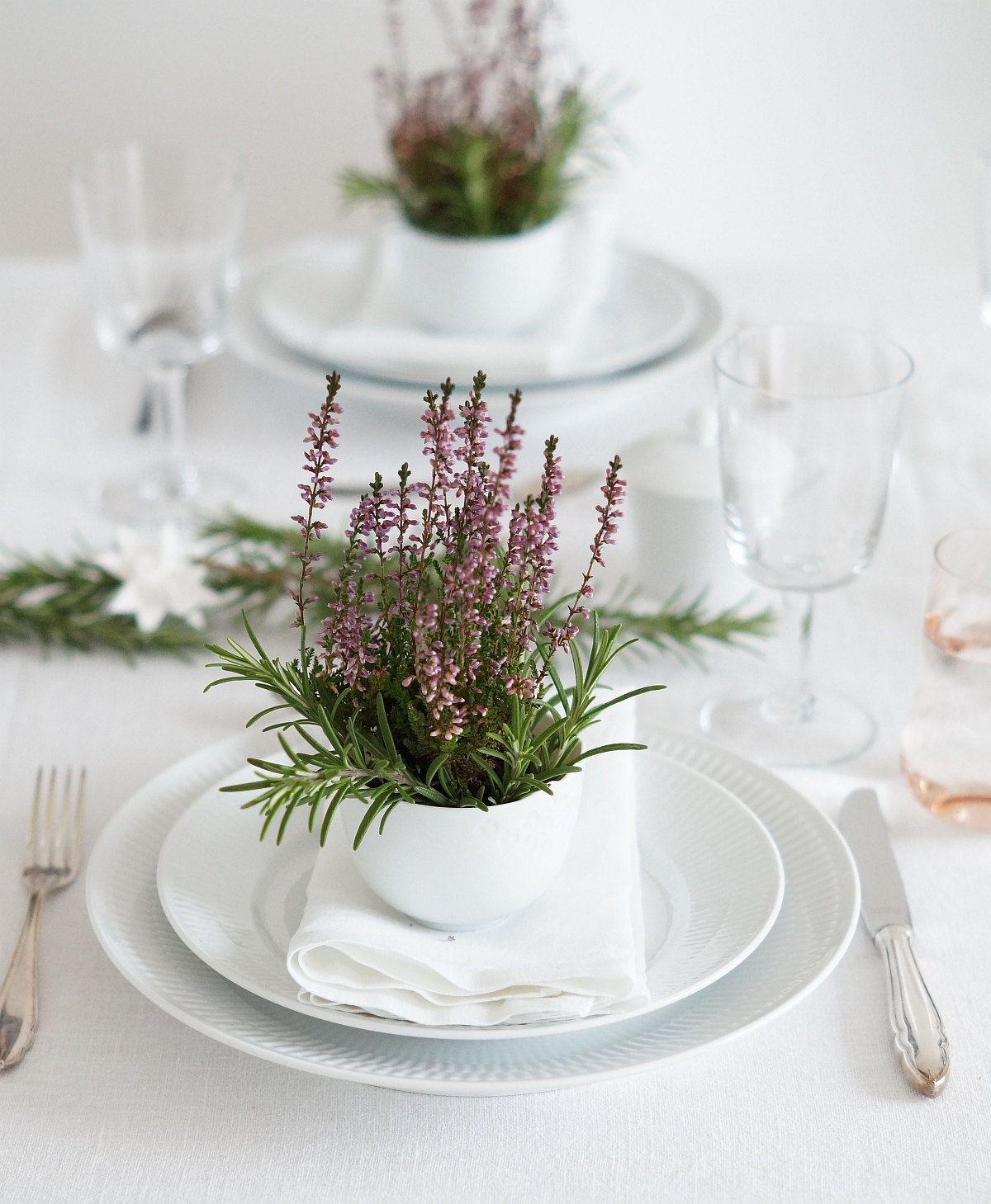 Deko Ideen Tischdekoration