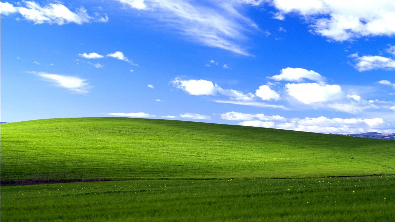Обои Bliss, xp, windows. Windows foto 12