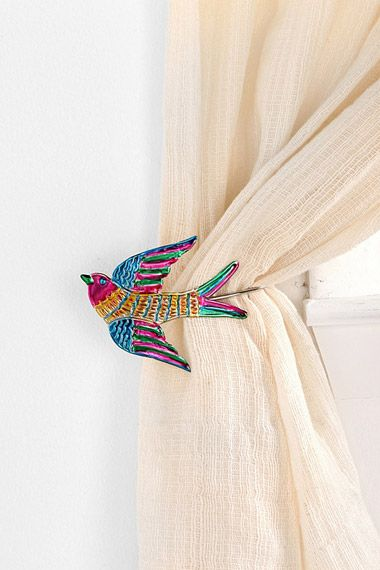 Decorative Bird Curtain Tie Backs From Urban Outfitters In 2020