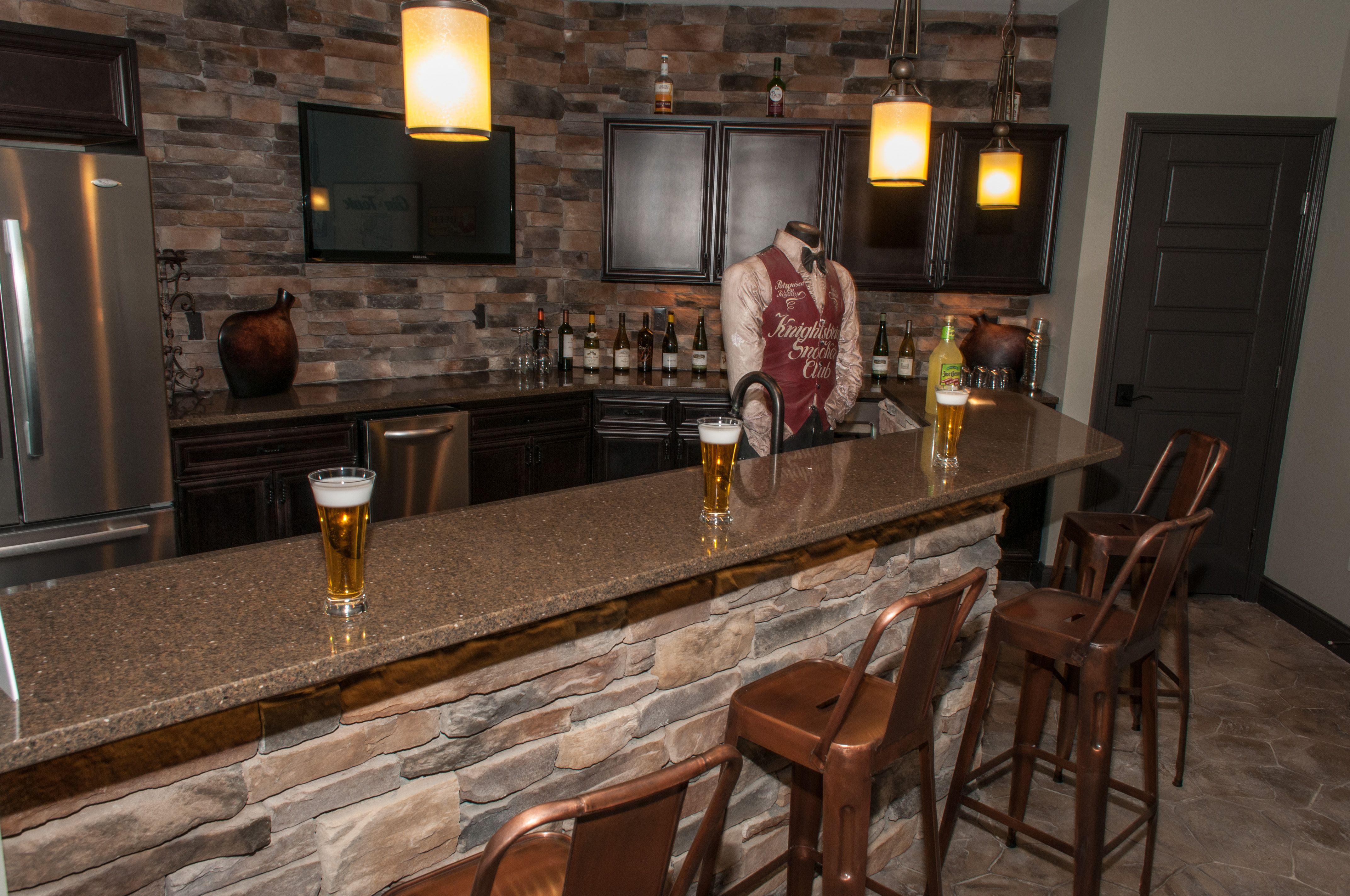 Fischer Homes Wheatland Finished Basement Bar Area Finished Basement Bars Finishing Basement Basement Bar Plans