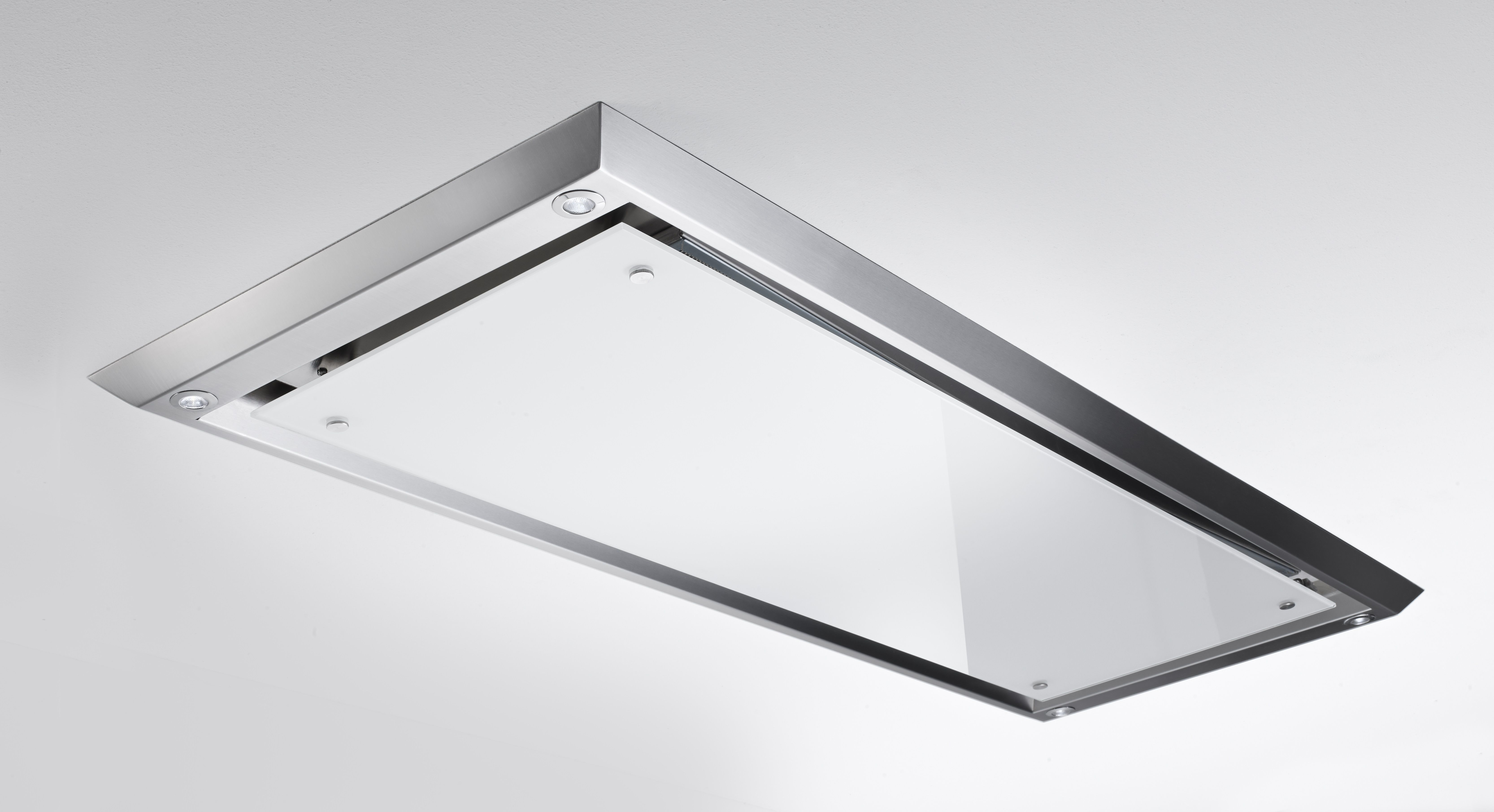 Stunning Slimline Ceiling Hood Ingenious Way Motor Fits In Between Most Standard House Joists With Option T Extractor Hood Ceiling Hood Stainless Steel Frame