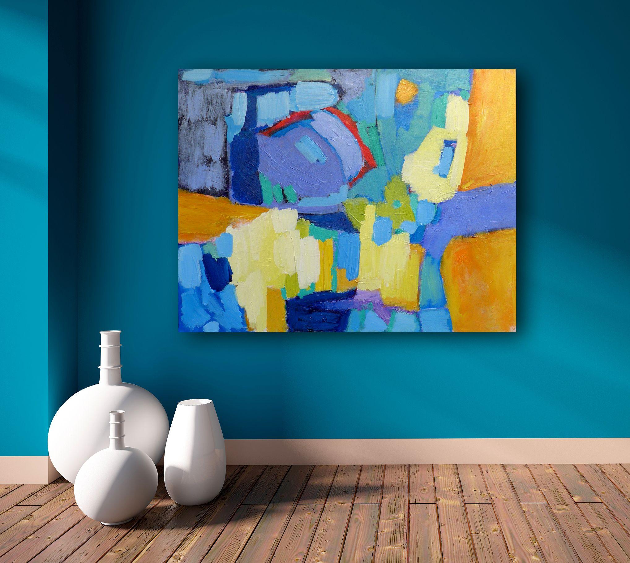 5 obras pict ricas en interiores esta es una gran - Tonos de pintura ...
