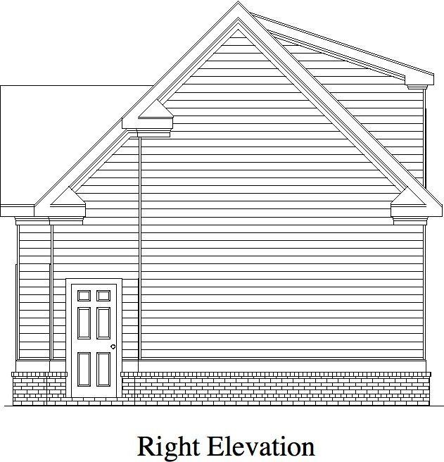 Great Selling Detached Garage This Traditional Plan Has 3 Bays And
