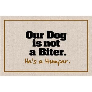 Dogs A Humper Doormat Taylor Gifts Dog Quotes Funny Funny