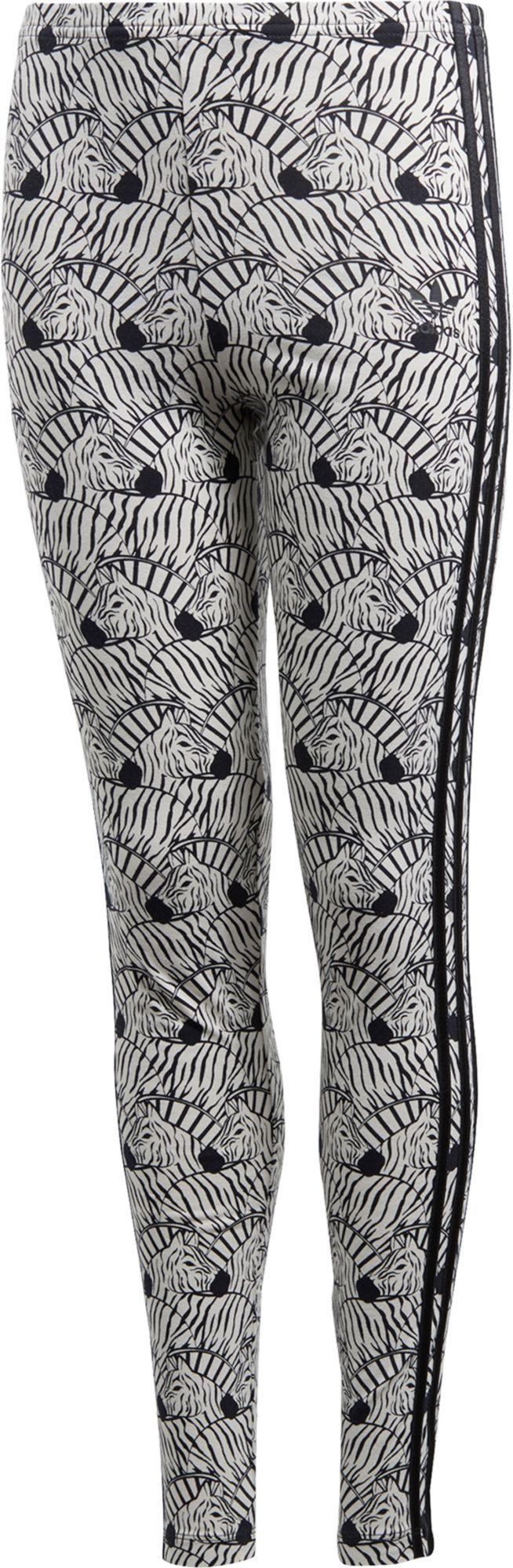 20de95418f7 adidas Originals Girls' Zebra Leggings | Products | Zebra leggings ...