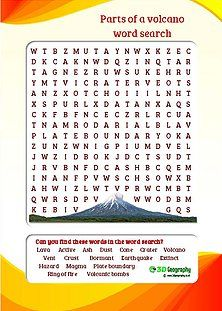Free volcano Worksheets for teaching and learning all about ...