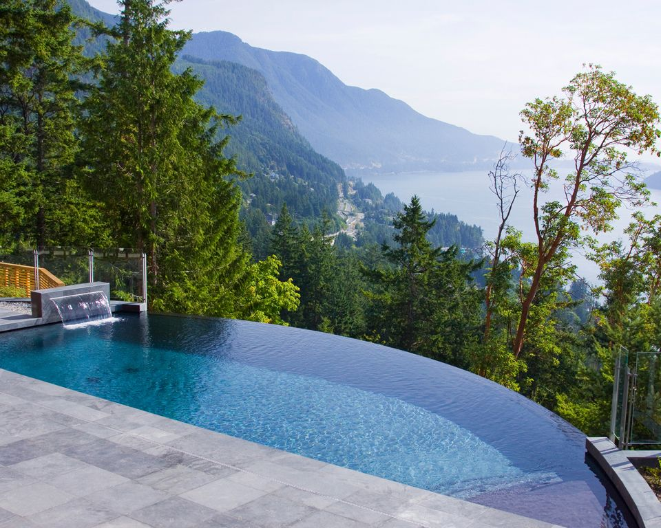Love the infinity pool yet this one seems not for the faint of heart.