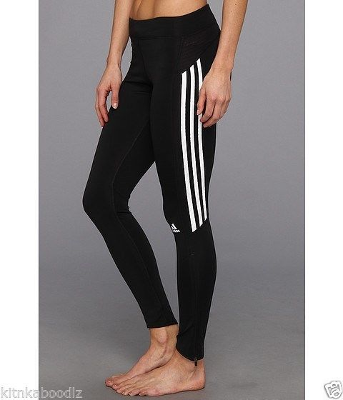 NWT Adidas Response Running Long Tights/Leggings CLIMALITE ...