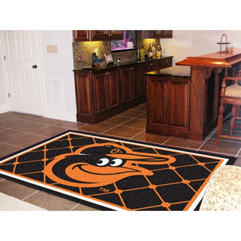 Baltimore Orioles MLB Floor Rug (5x8')