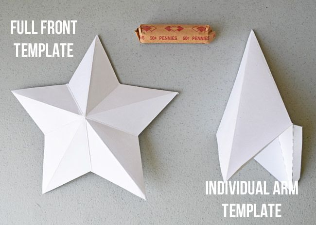 Star Tree Topper And Templates
