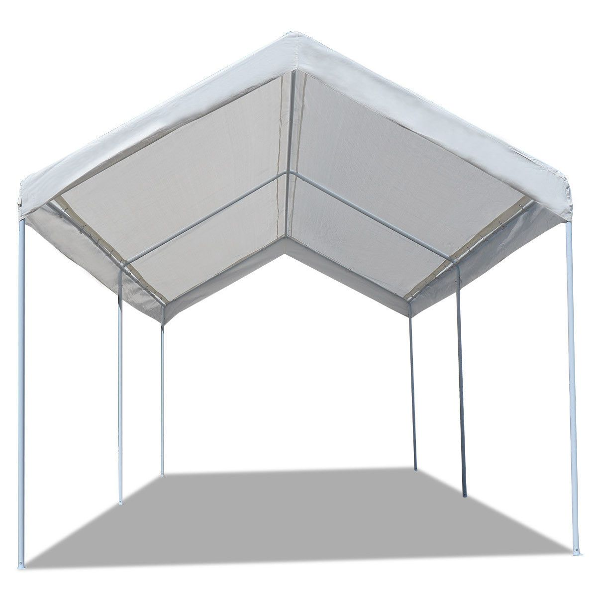 10 x 20 Steel Frame Canopy Shelter Portable Car Carport