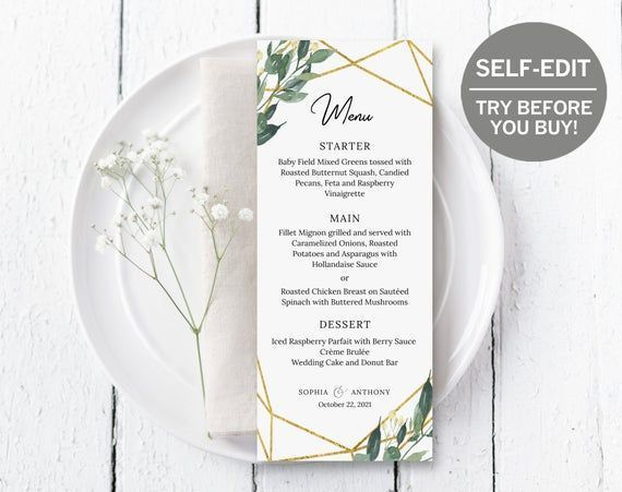 Wedding Menu Cards TRY DEMO NOW Wedding Menu Template Geometric Wedding Wedd #weddingmenutemplate Wedding Menu Cards TRY DEMO NOW Wedding Menu Template Geometric Wedding Wedd #weddingmenutemplate