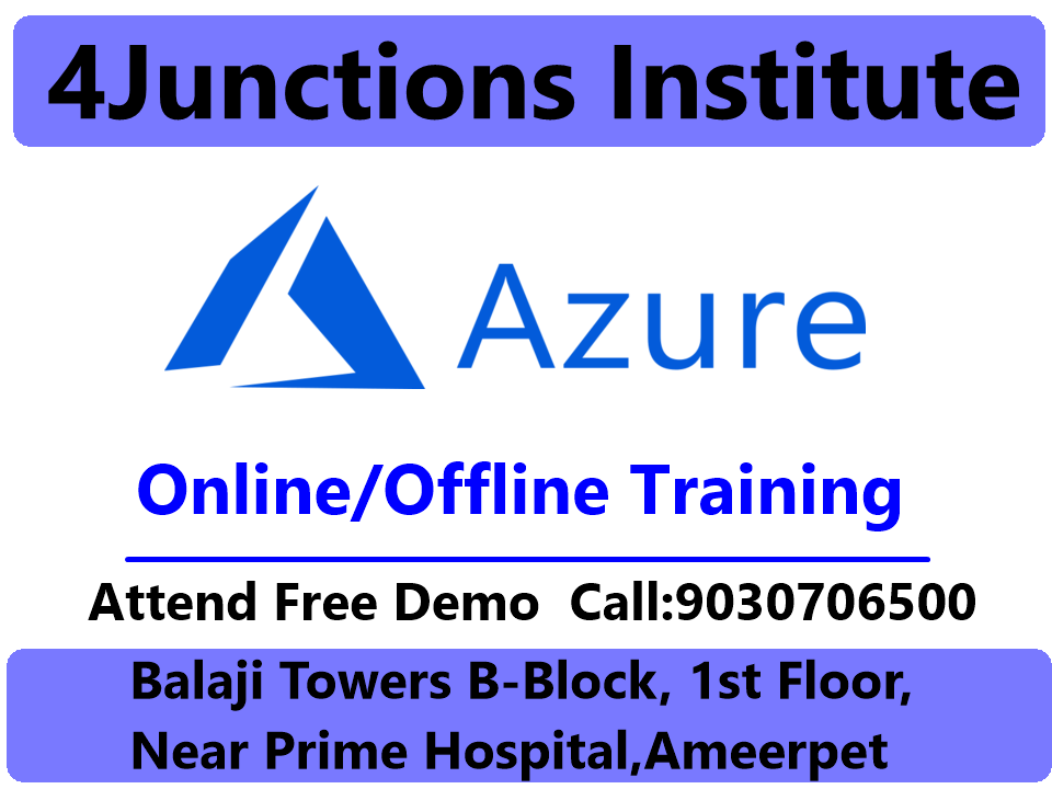 4Junctions #Institute is the best #Microsoft #Azure #training