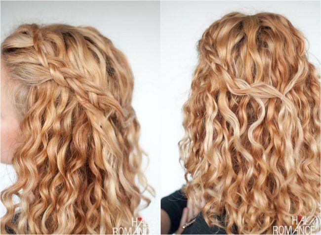 Frisur seitlich selber machen