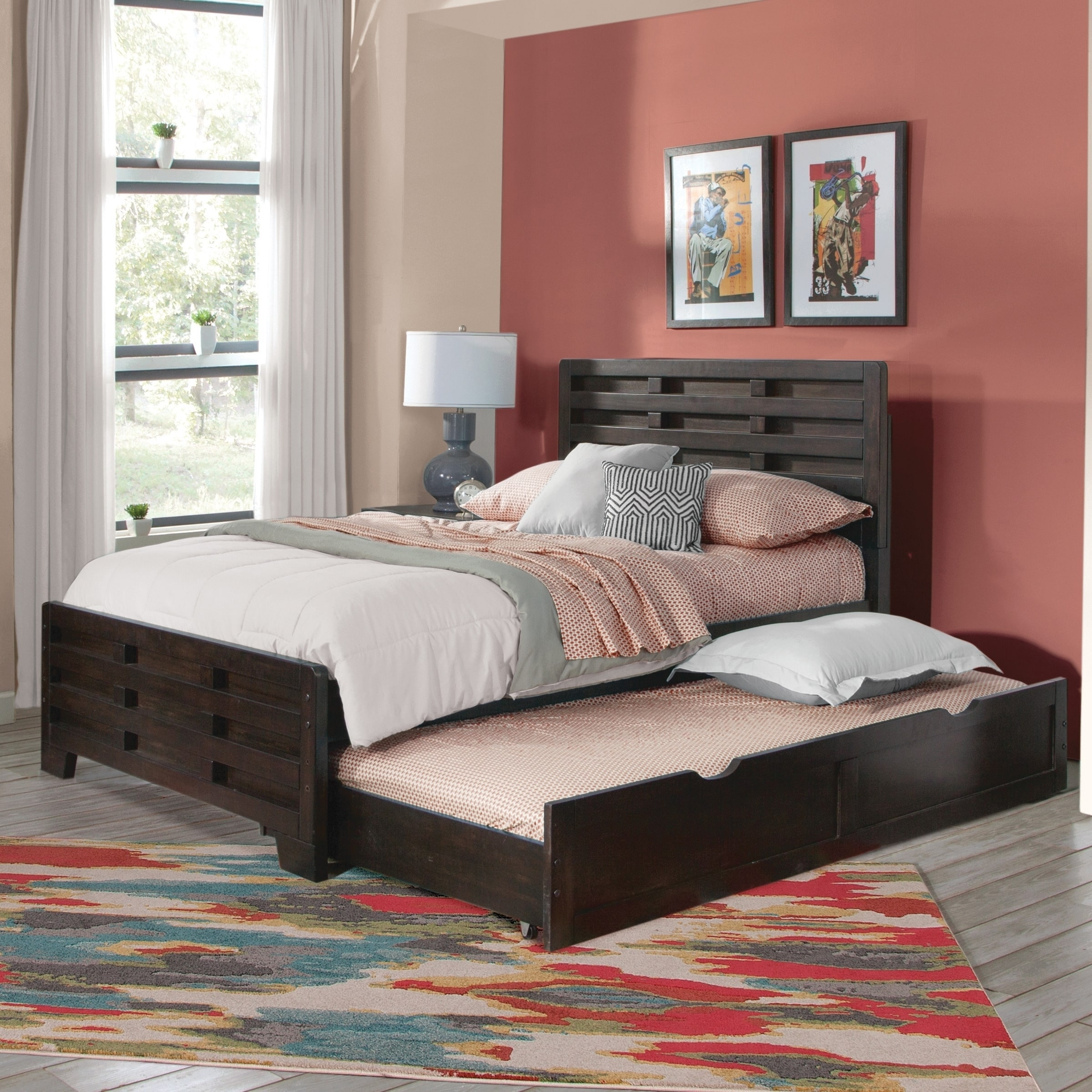 Best Brockton Captains Bed With Trundle By Greyson Living Twin 400 x 300