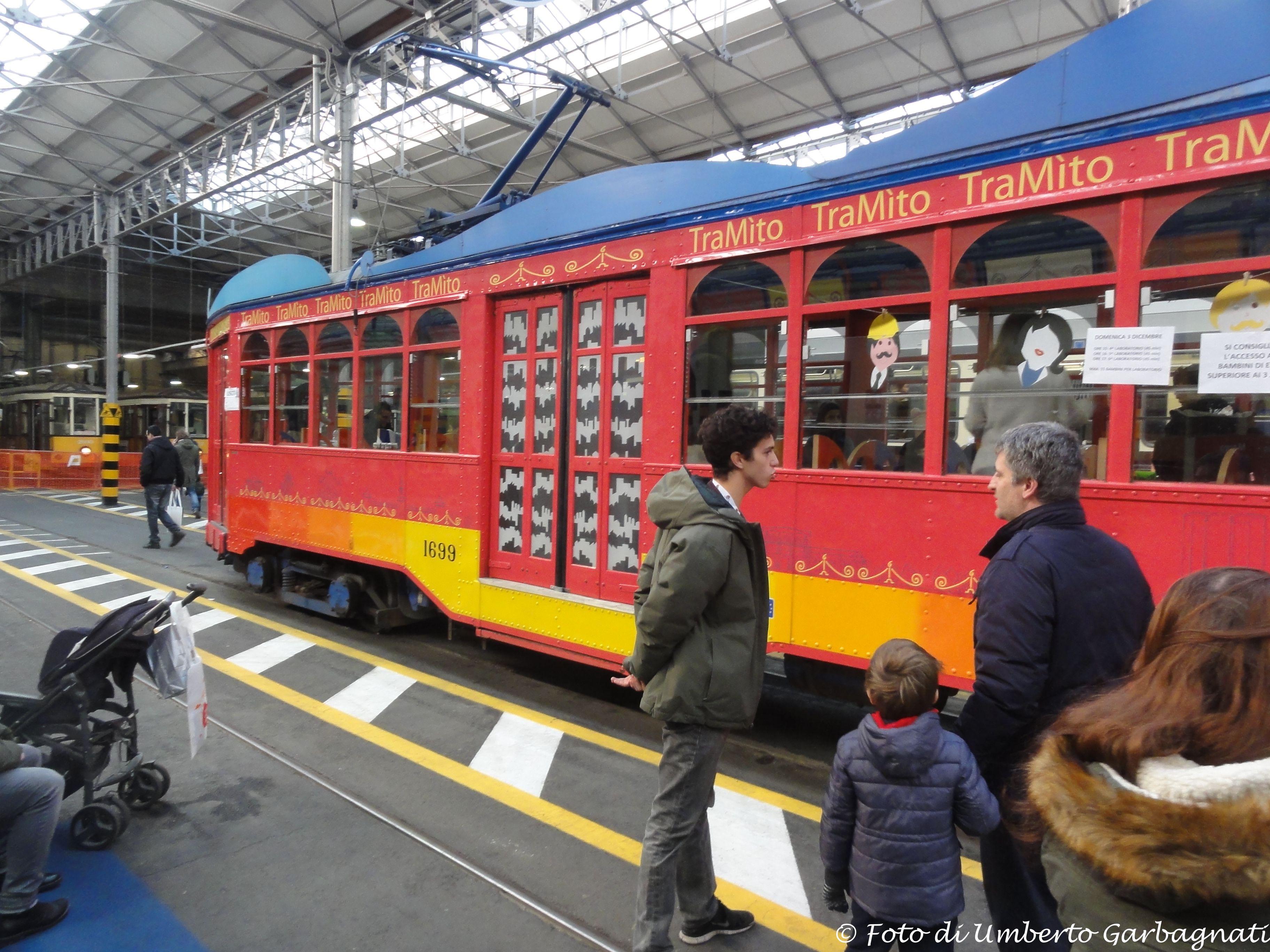 vettura ATM-1699 TraMito (scuolaintram) - deposito Messina - MILANO ...